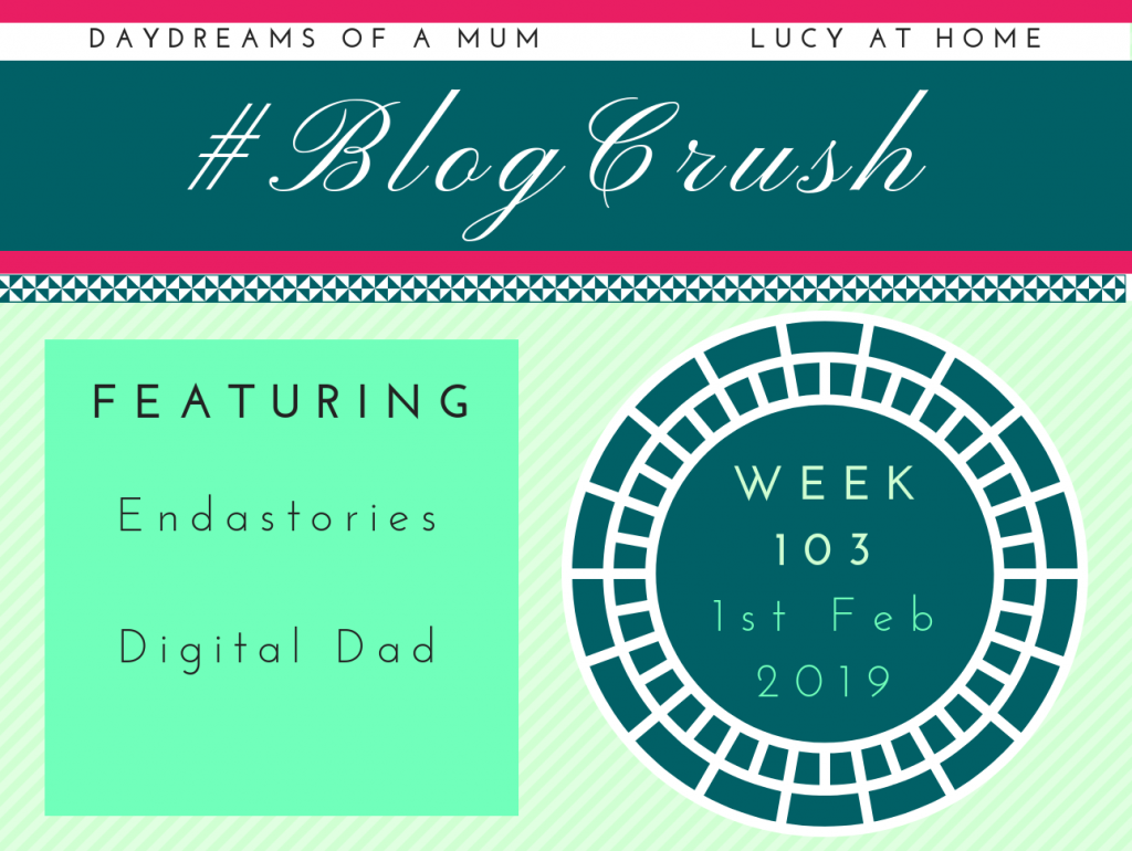 BlogCrush Week 103 – 1st Feb 2019