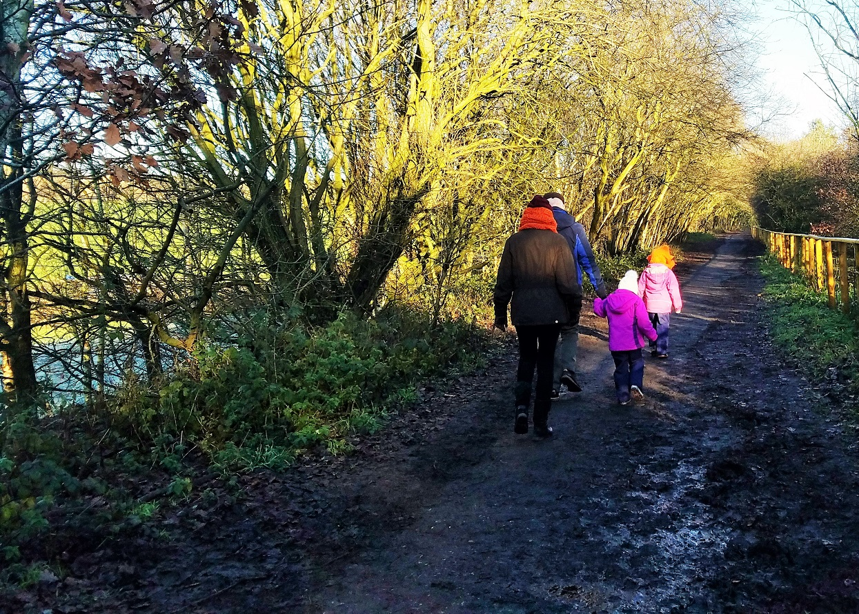 Core principles of gentle parenting - children on a muddy path