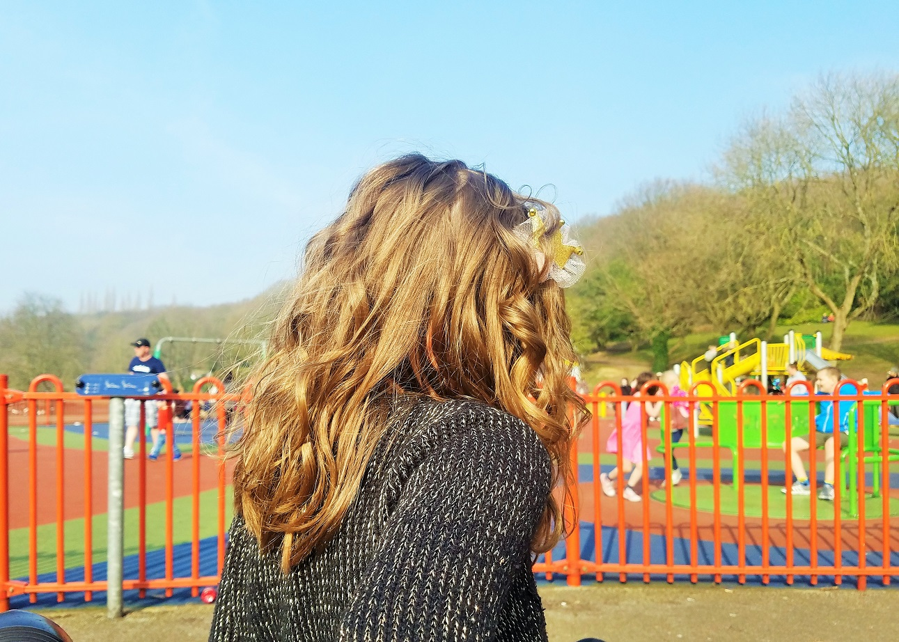 parenting myths addressed by gentle parenting child at the play park