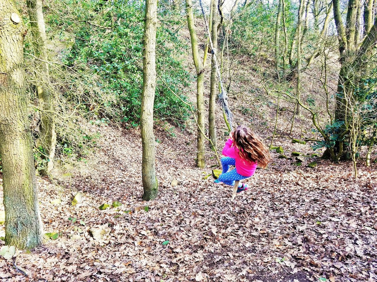 practical tips for helping a child when they wet the bed child on rope swing