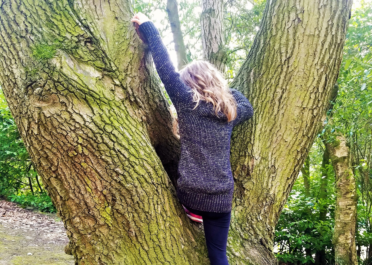 top tips for parents whose kids wet the bed child climbing a tree