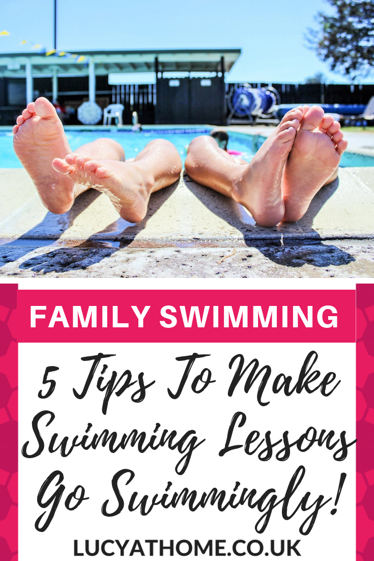 5 Tips To Make Swimming Lessons Go Swimmingly Swimming lessons for kids are so much fun and here are some swimming lesson essentials to help it run smoothly